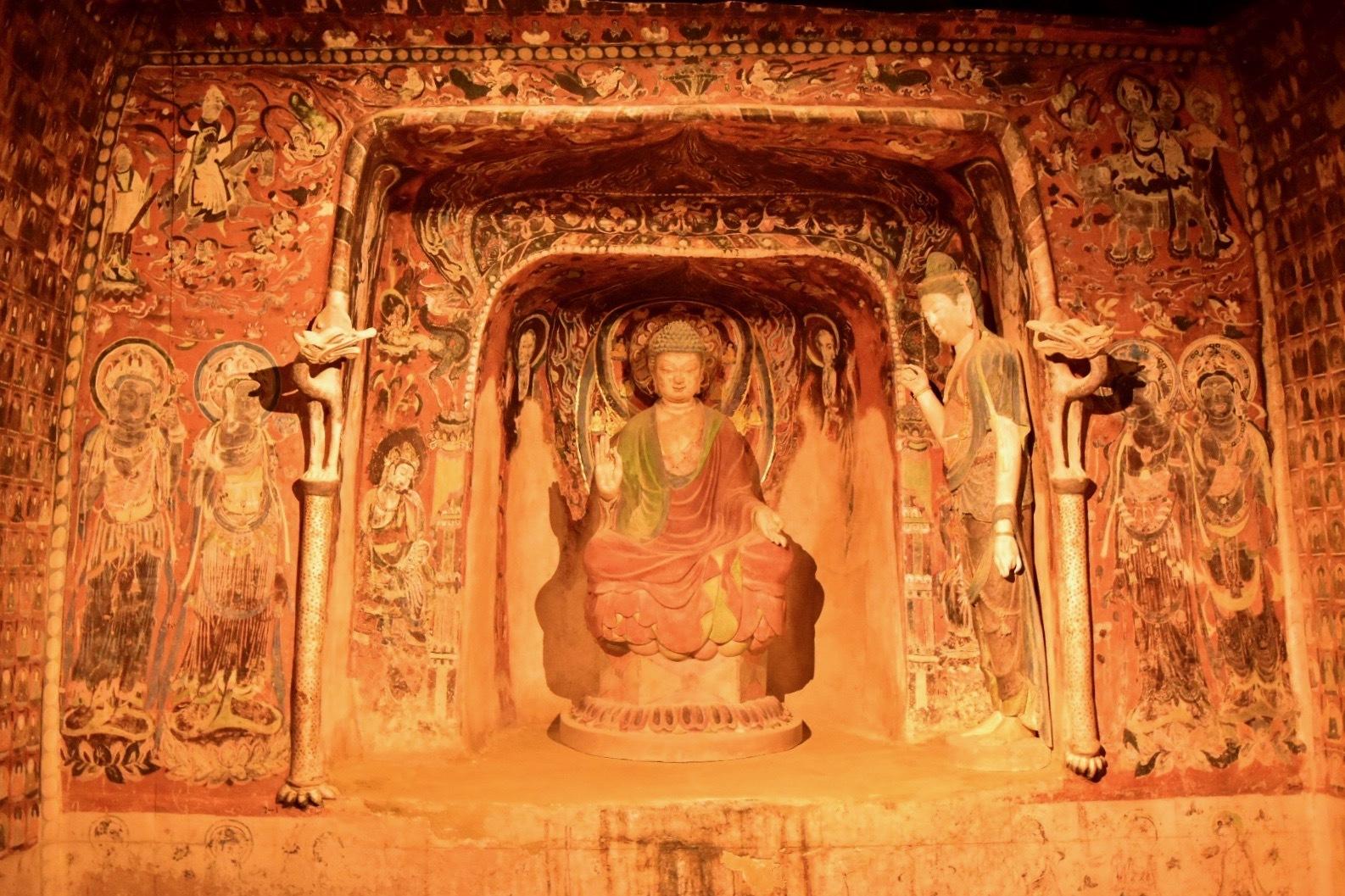 クローン文化財 敦煌莫高窟 第57窟(部分) 7世紀前半
