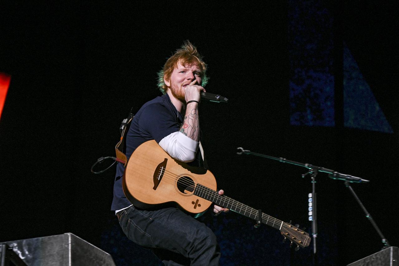 Ed Sheeran photo by 岸田哲平
