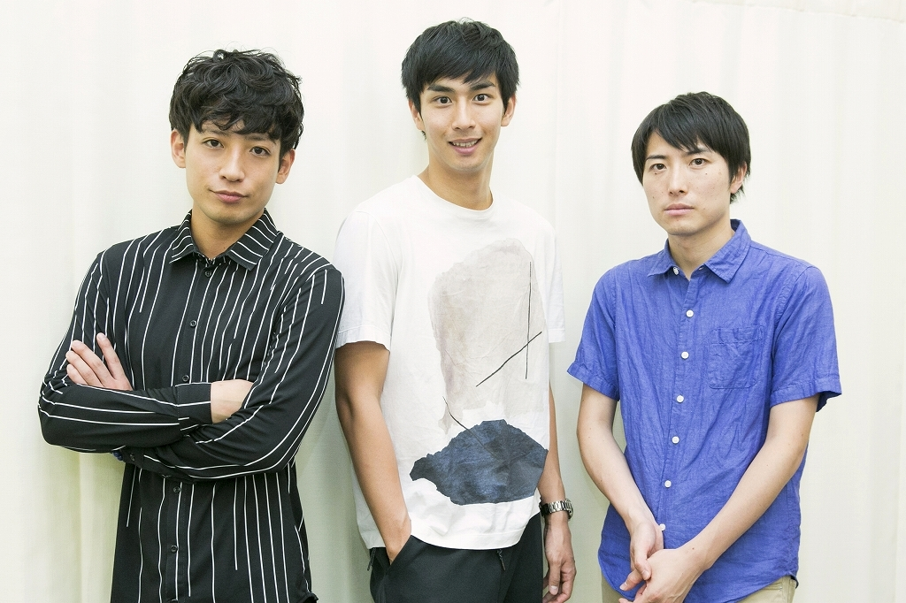 (左から)陣内将、市川知宏、中屋敷法仁