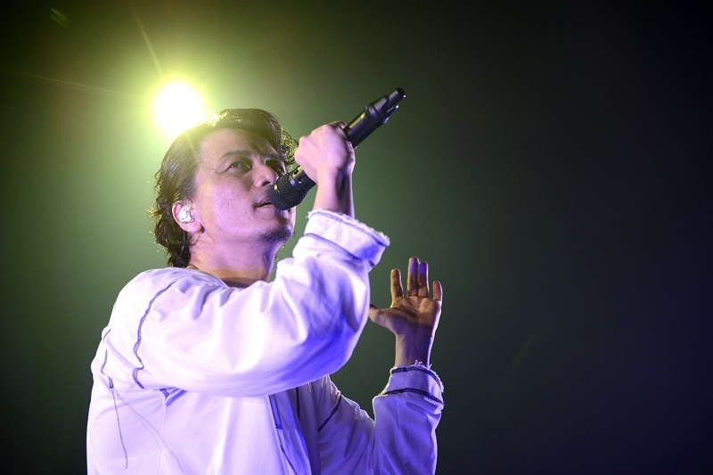 KREVA『CONCERT TOUR 2017「TOTAL 908」』撮影=半田安政