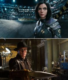 『銃夢』実写映画化『アリータ:バトル・エンジェル』主演ローサ・サラザール、クリストフ・ヴァルツ、R・ロドリゲス監督の来日が決定