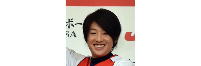 上野由岐子投手(女子ソフトボール日本代表)