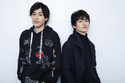 松田凌×神永圭佑インタビュー 役者同士が手札の切り合いを予感させる、舞台『+GOLD FISH』