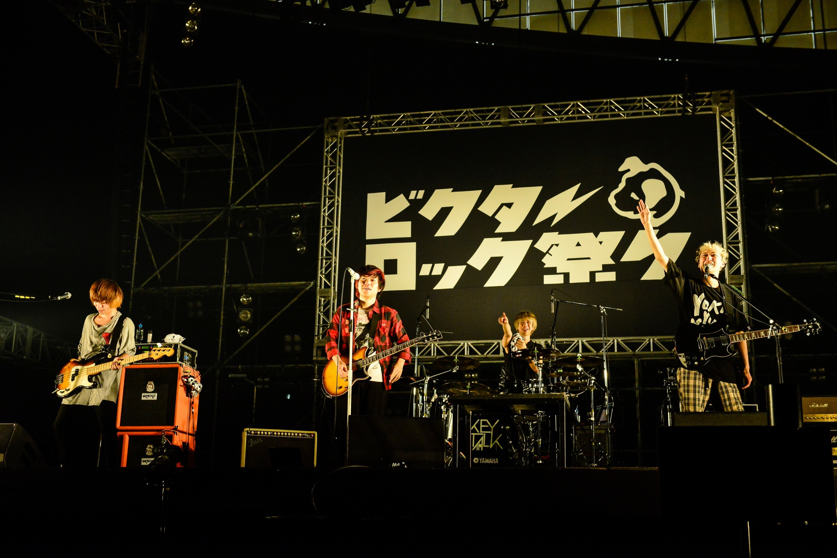 KEYTALK Photo by Rui Hashimoto(SOUND SHOOTER)