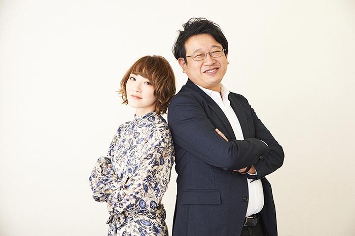 (左から)生駒里奈、毛利亘宏