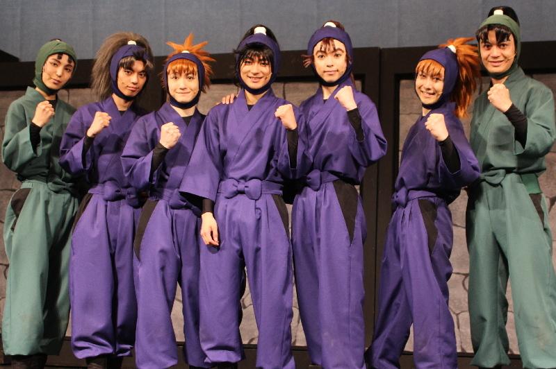 (左から)二平壮悟、栗原大河、吉田翔吾、山木透、佐藤智広、久下恭平、海老澤健次