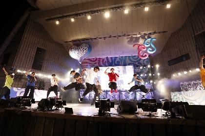 BOYS AND MEN、『EJ MUSIC DAYS 2021 in 日比谷野音』のステージに木梨憲武がサプライズで登場