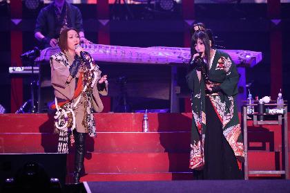 """和楽器バンドと15,000人の""""大新年会""""に一青窈がサプライズで登場  「一緒に歌えた事に非常に感激」"""