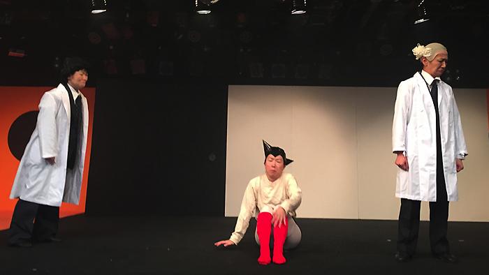 過去公演『四半世紀の大失態』舞台写真