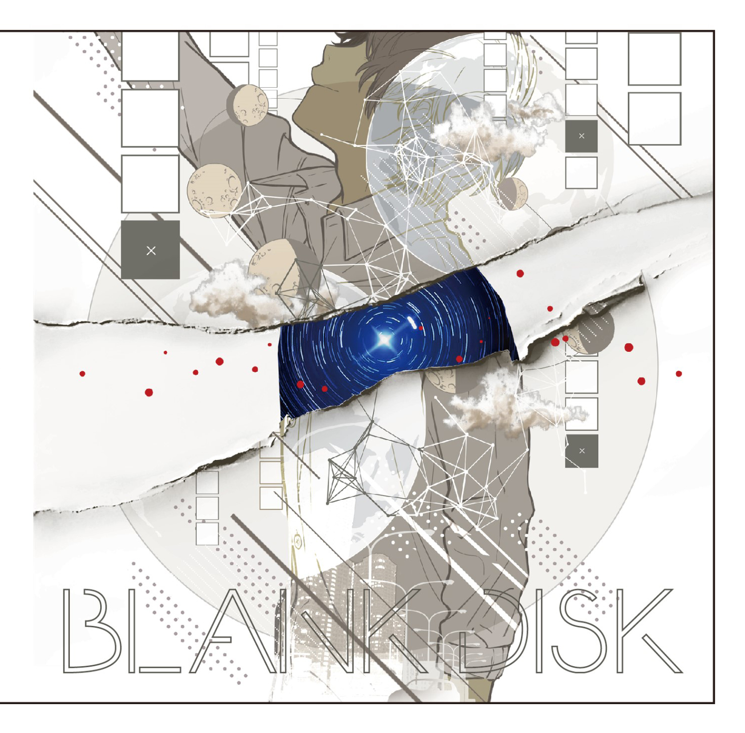 BLANK DISK  illustration:みっ君