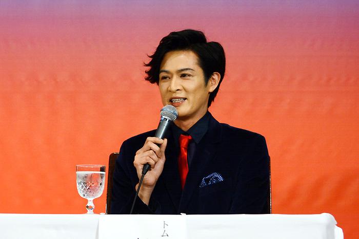 新納慎也(トム・ワトソン役:ユダヤ人排斥主義の政治活動家)ミュージカル『パレード』
