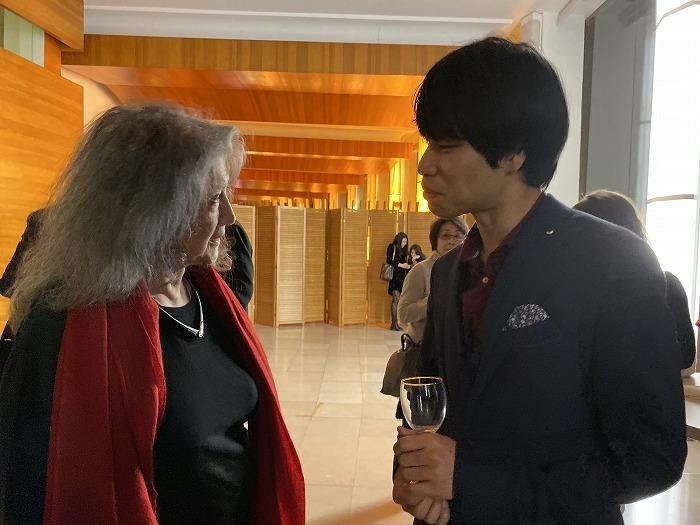 本コンクールは審査委員長をマルタ・アルゲリッチが務めた  (C)Kyohei Sorita