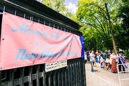 真夏の大阪城野外音楽堂で今注目の11組が集結『MORNING RIVER SUMMIT 2017』をレポート