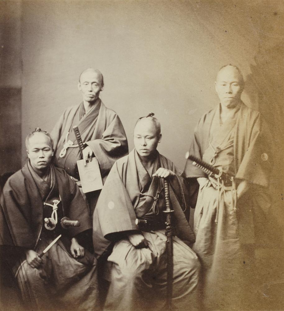 《薩摩藩の役人》 フェリーチェ・ベアト撮影 1863~1870年頃 個人蔵