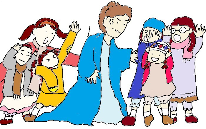 「Little Girls」ハニガンと孤児たち