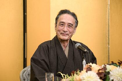 歌舞伎俳優、片岡仁左衛門が文化功労者に「年中挑戦しています」俳優生活70年に向け思いを語った会見レポート