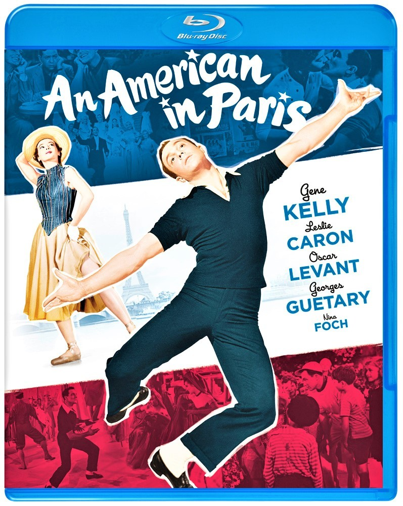 特典満載のブルーレイ版「巴里のアメリカ人」。ワーナー・ホーム・ビデオよりリリース。