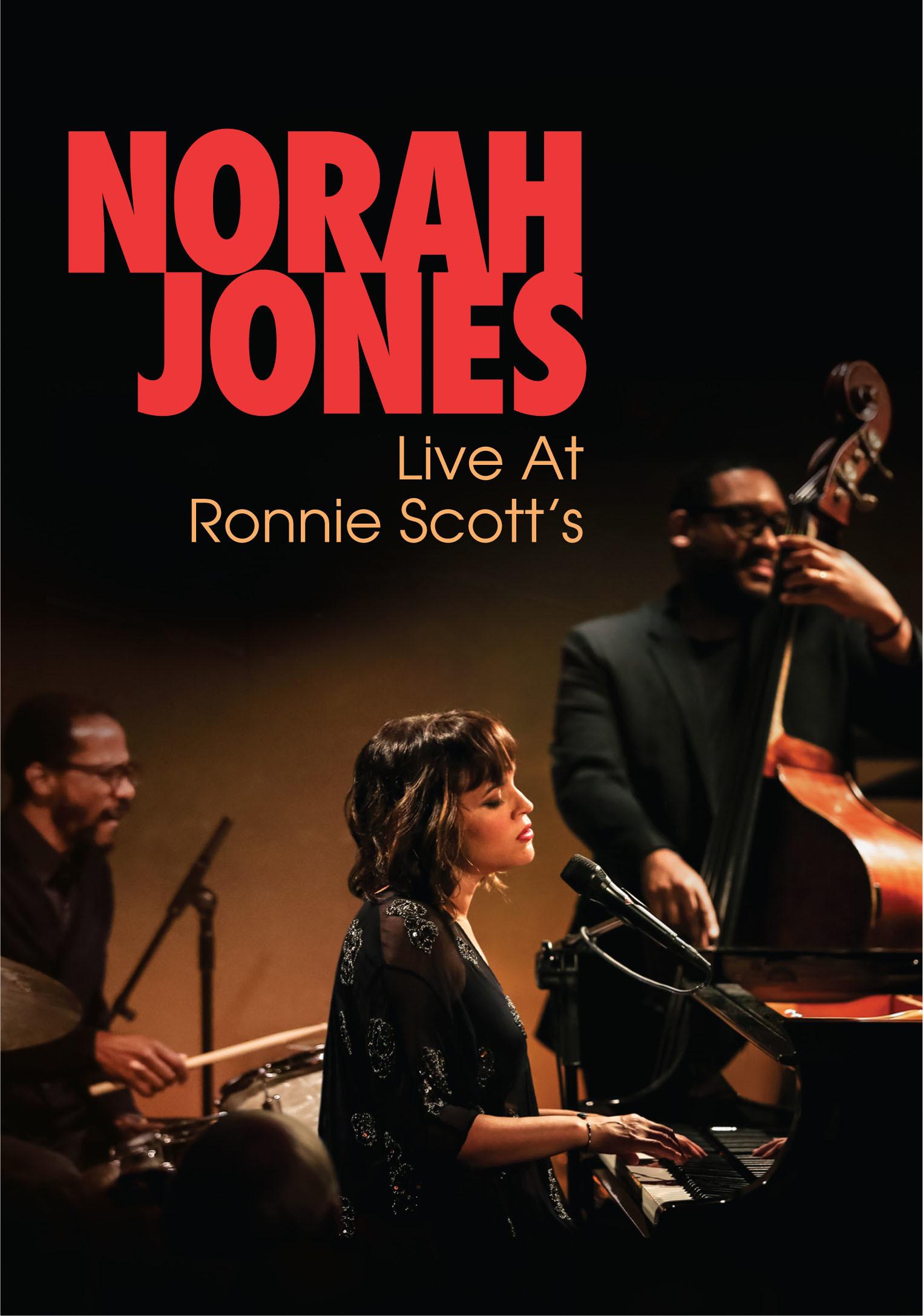 ノラ・ジョーンズ『ライヴ・アット・ロニー・スコッツ』DVD