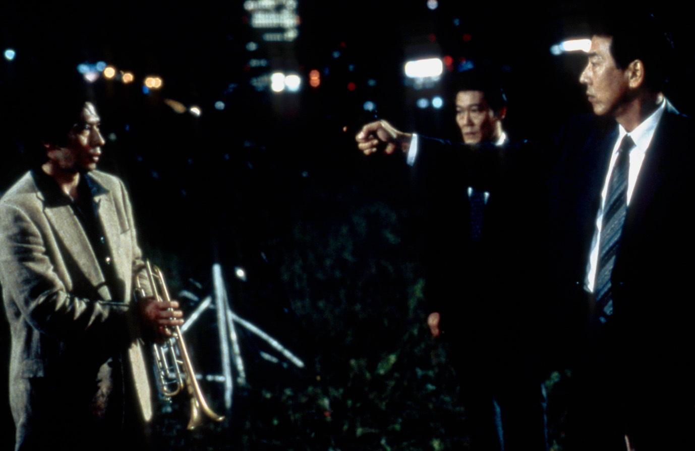 左から、真田広之、國村隼、岸部一徳 (C)1999東北新社・電通・日本出版販売・IMAGICA
