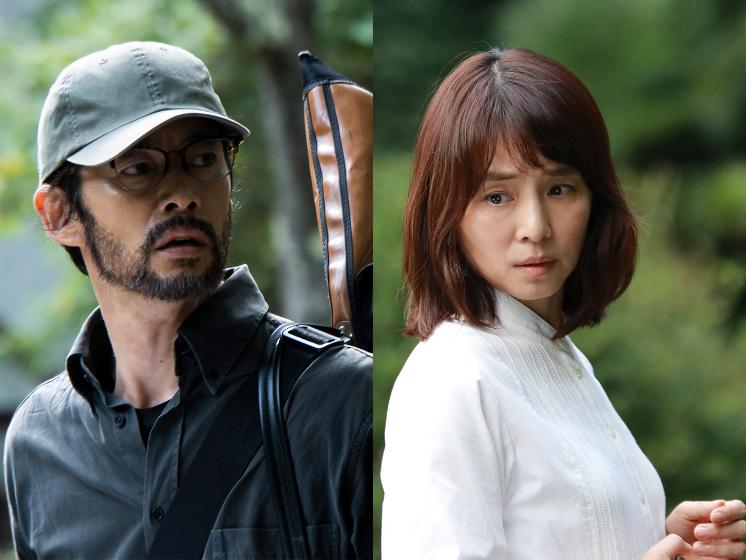 左から、竹野内豊、石田ゆり子 WOWOW『連続ドラマW 東野圭吾 さまよう刃』