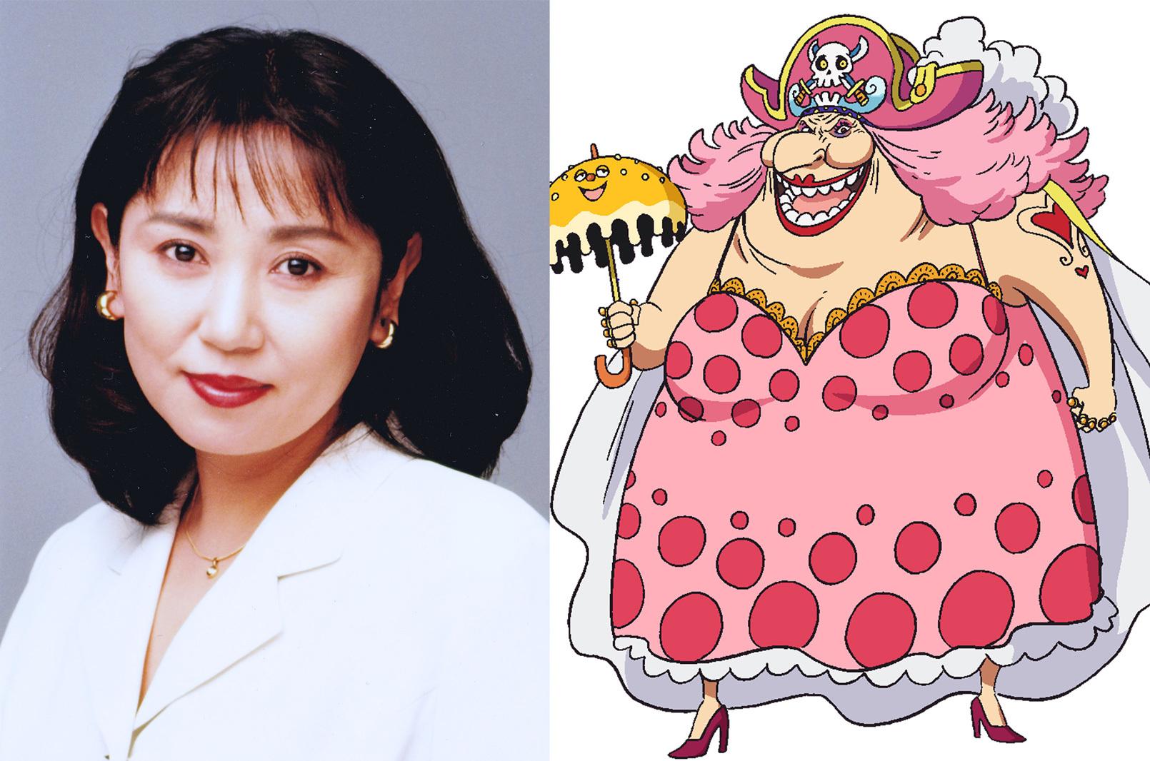左から、小山茉美、ビッグ・マム (C)尾田栄一郎/集英社・フジテレビ・東映アニメーション