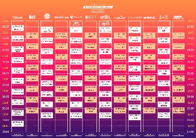 下北沢サーキットイベント『KNOCKOUT FES 2021 autumn』最終出演アーティストとタイムテーブルが発表