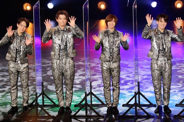 (左から)松倉海斗、吉澤閑也、七五三掛龍也、宮近海斗