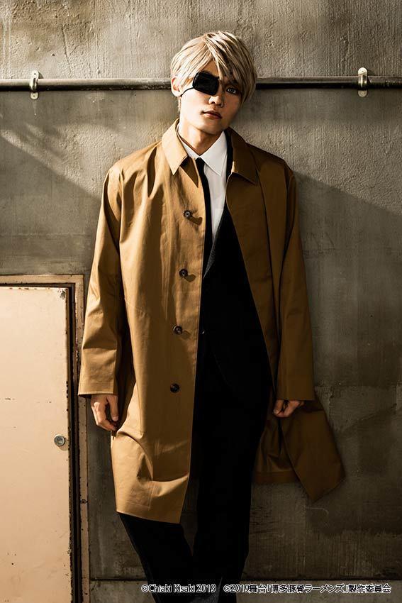 宗方役:佐藤弘樹 (C)Chiaki Kisaki2019 (C)2019 舞台「博多豚⾻ラーメンズ」製作委員会