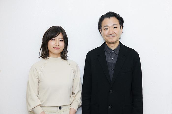 (左から)南沢奈央、白井晃
