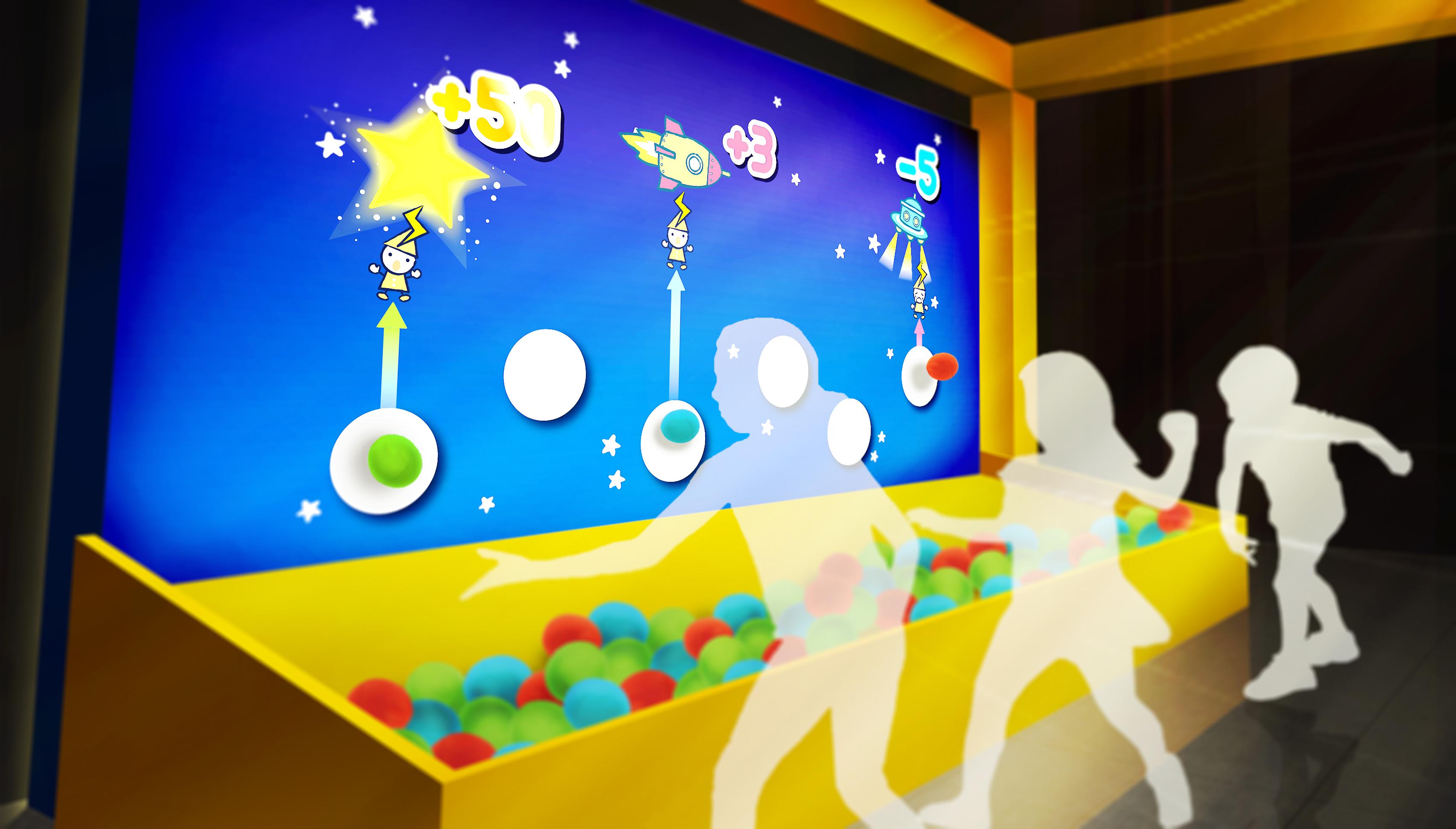 体験コーナー「光の粒で電子を飛ばそう」イメージ