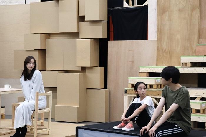 『神の子どもたちはみな踊る after the quake』稽古場写真