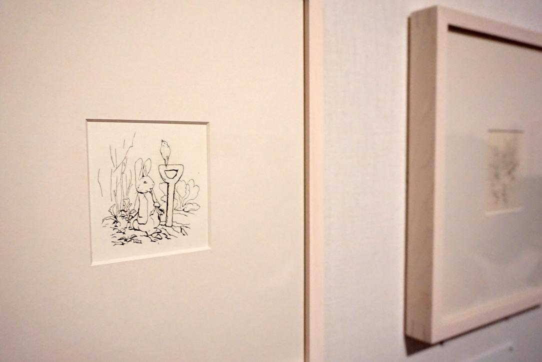 ビアトリクス・ポター 私家版『ピーターラビットのおはなし』挿絵 英国ナショナル・トラスト所蔵