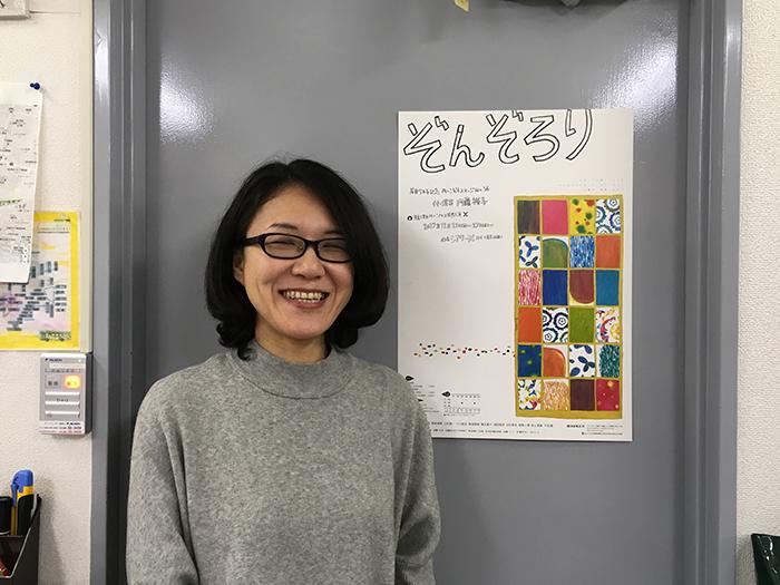 『ぞんぞろり』の作・演出をする内藤裕子。