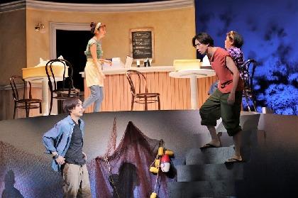舞台『黒白珠』開幕! 松下優也、平間壮一が「仲間というか友達みたいな感覚」で双子の兄弟を演じる