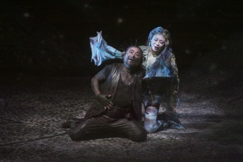 ヴェルグンデ 森季子:びわ湖ホールプロデュースオペラ『ラインの黄金』(2017年3月びわ湖ホール)   写真提供:びわ湖ホール