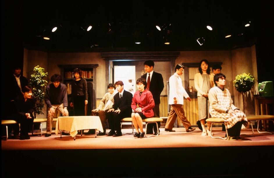 「算段兄弟」(初演タイトル「近松ゴシップ」)より(1999年3月メイシアターにて上演)