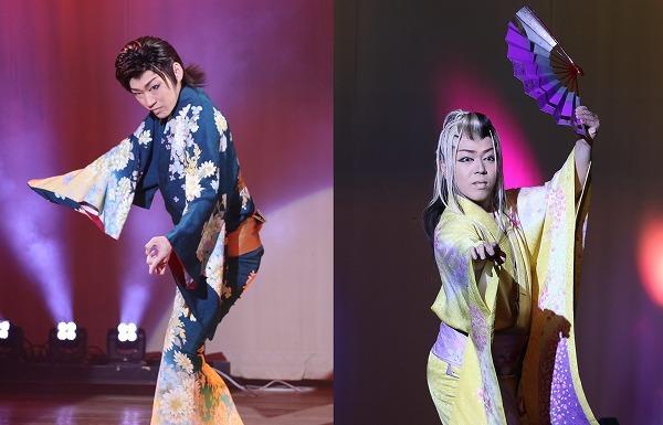 都剛副座長(左)、都星矢花形(右)の個性も光る。 ©テレビ朝日