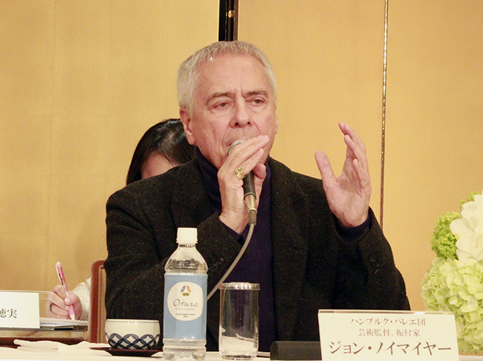 ジョン・ノイマイヤー (撮影:西原朋未)