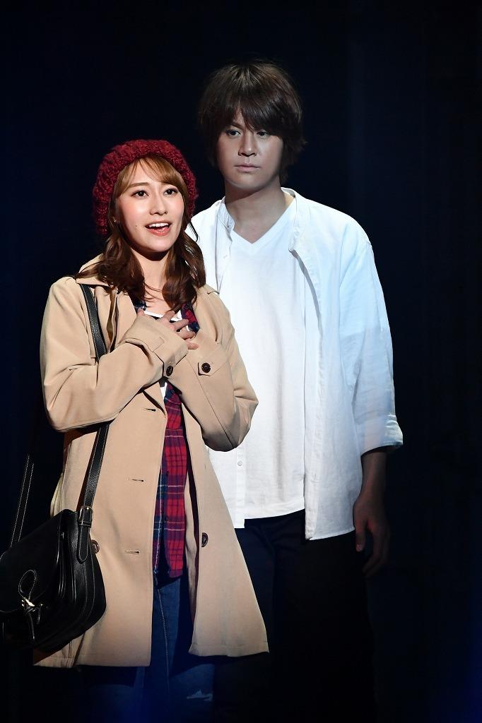 ミュージカル『GHOST』舞台写真   撮影:桜井隆幸