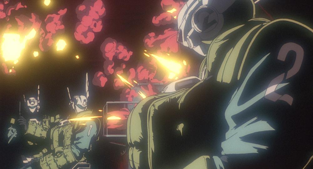 『機動警察パトレイバー2 the Movie 4DX』場面写 (c)1993 HEADGEAR/BANDAI VISUAL/TOHOKUSHINSHA/Production I.G