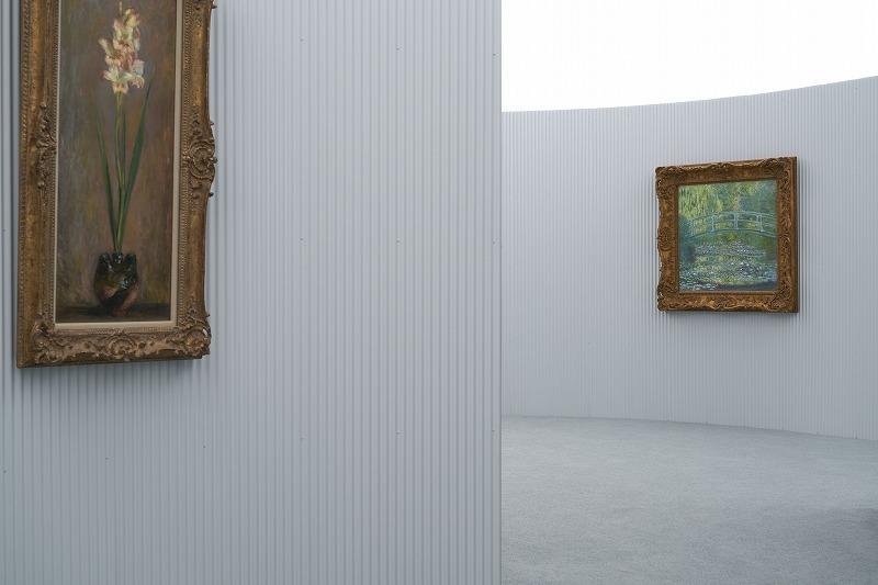 モネが見つめた光を再現した展示室 (ポーラ美術館提供)(C)gottingham