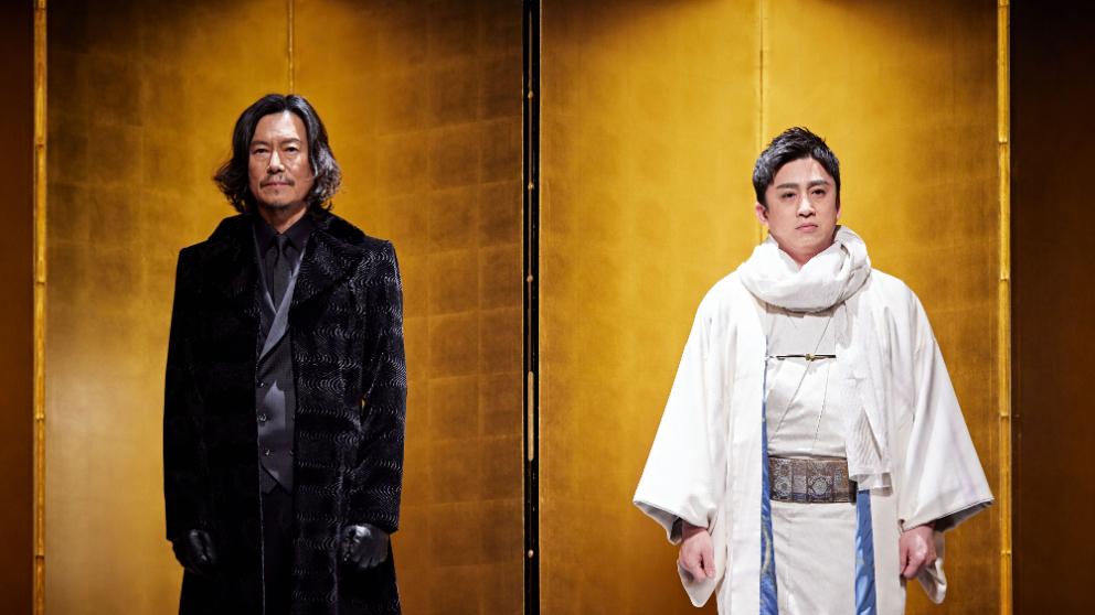 左から、豊川悦司、十代目・松本幸四郎