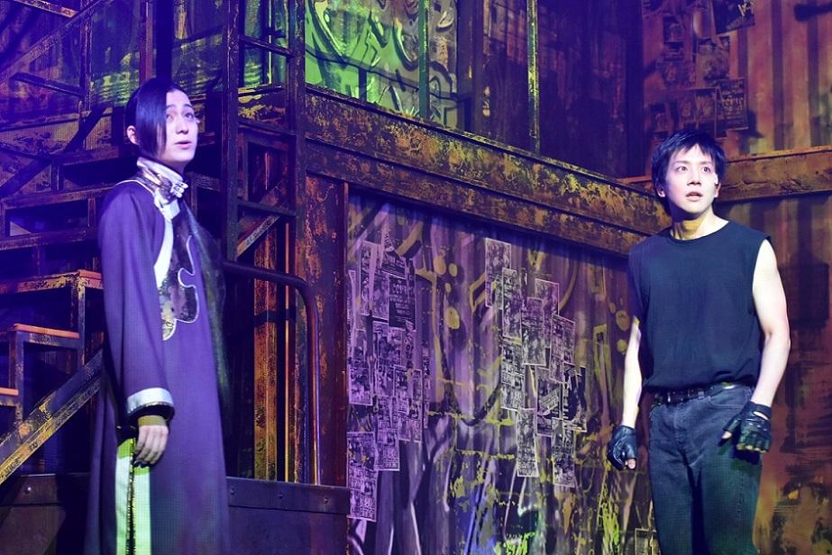 (左から)佐奈宏紀、椎名鯛造