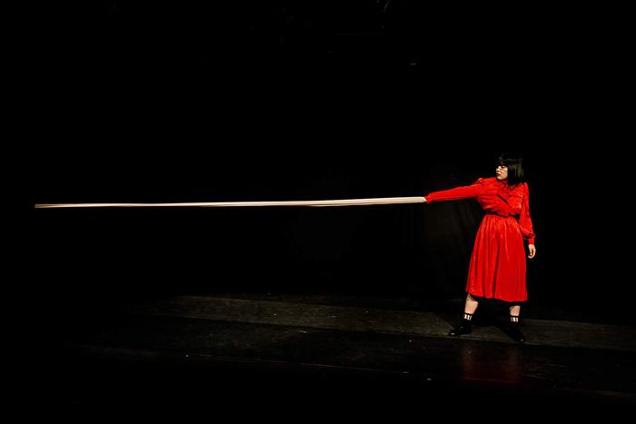 劇団「地蔵中毒」 舞台写真 (撮影:塚田史香)
