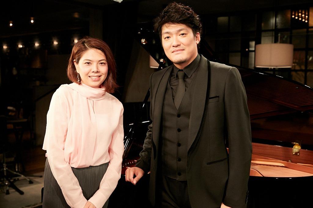 藤原藍子(ピアノ)、西村悟(テノール)  撮影=岩間辰徳