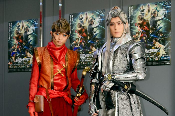 (左から)佐藤大樹、増田俊樹