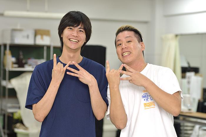 左から 多和田任益、伊藤今人