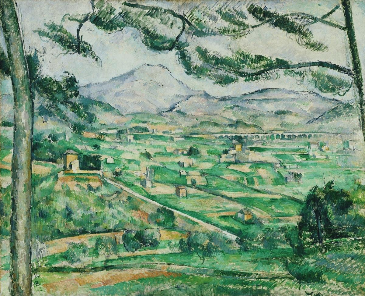 ポール・セザンヌ《サント=ヴィクトワール山》1886-87年 油彩、カンヴァス 79.3×92.3cm フィリップス・コレクション、ワシントンD.C.The Phillips Collection, Washington, D. C.