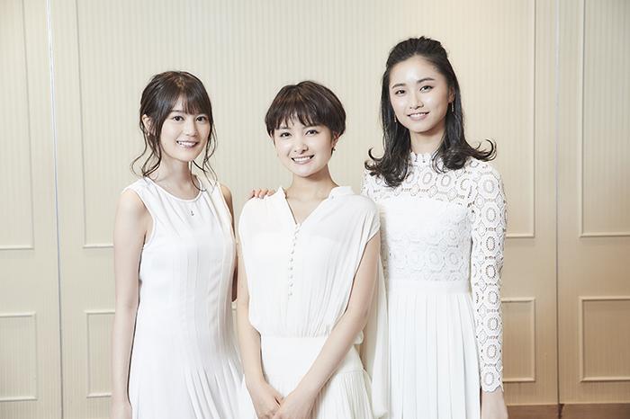 (左から)生田絵梨花、葵わかな、木下晴香