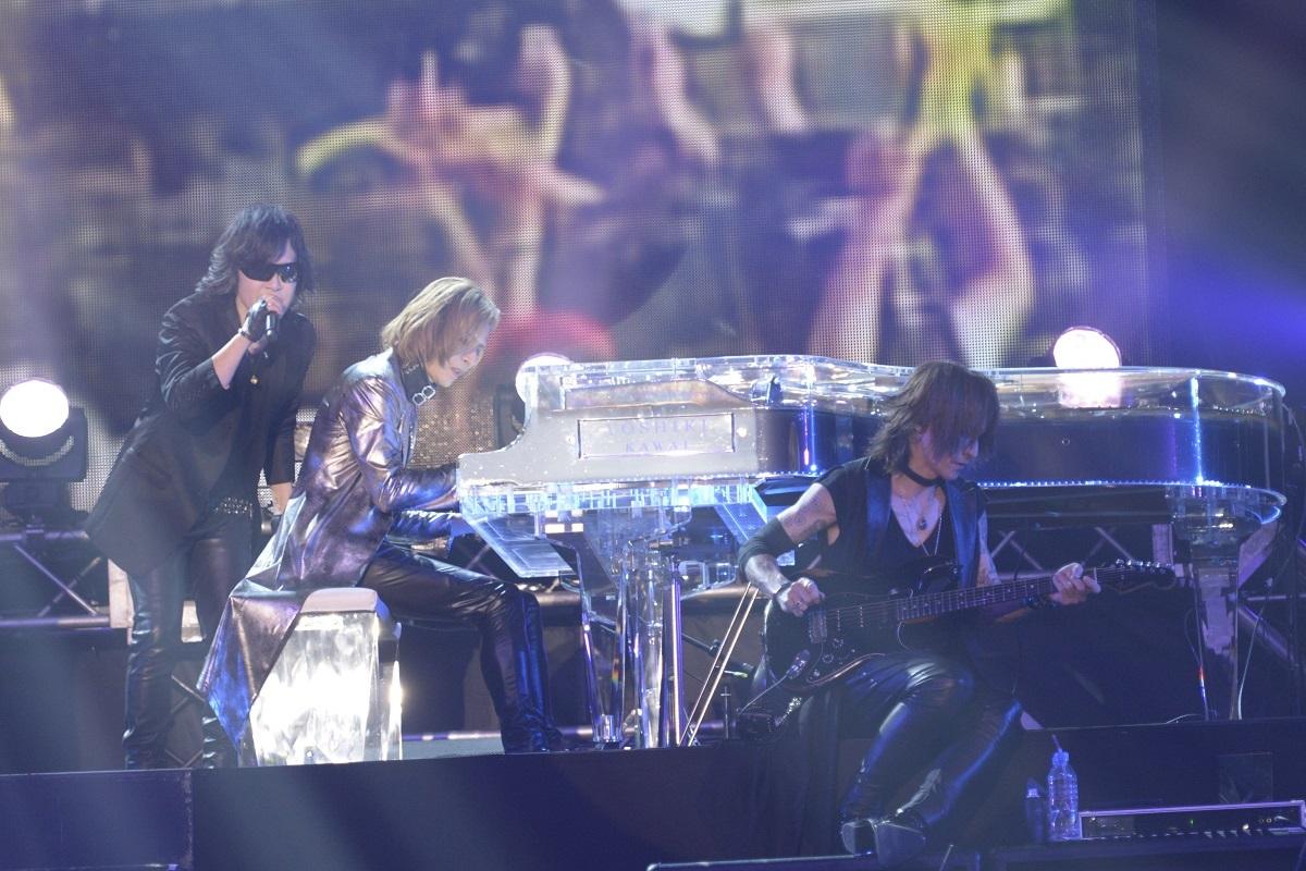 X JAPAN ©テレビ朝日ドリームフェスティバル2018 /写真提供:ジャパンミュージックエージェンシー